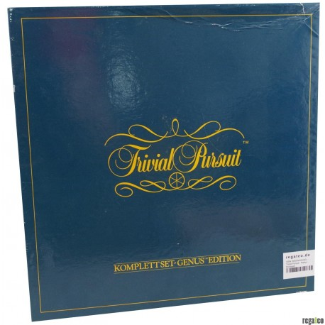 Parker 730003 - Trivial Pursuit: Komplettset Genus™ Edition