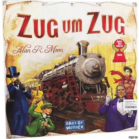 Asmodee - Days of Wonder 200060 - Zug um Zug - Spiel des Jahres 2004