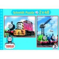 Thomas & seine Freunde (Puzzle), Auf