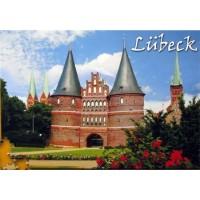 Stadtpuzzle Lübeck - Holstentor (Puzzle