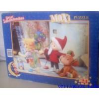 Maxi Sandmännchen Puzzle mit 24 Teile