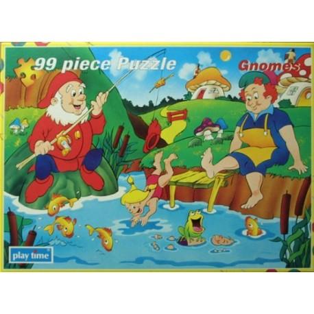 Zwerge. 99 Teile Puzzle