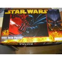 STAR WARS*PUZZLE 1000-teilig - Raumschiffe : Anakin's Jedi Starfighter / Obi Wan`s Jedi Starfighter