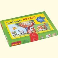 Spiegelburg 20054 Puzzle Die Lieben Sieben