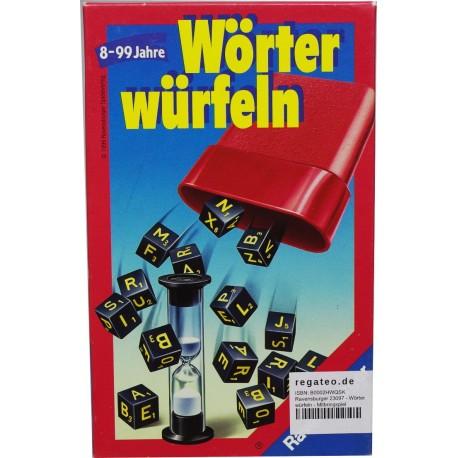 Ravensburger 23097 - Wörter würfeln - Mitbringspiel